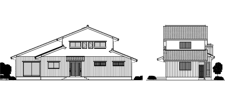 連島の町屋住宅